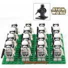 White Clone minifigures Trooper Clone Trooper army Lego Compatible Toy,Star Wars The Last Jedi