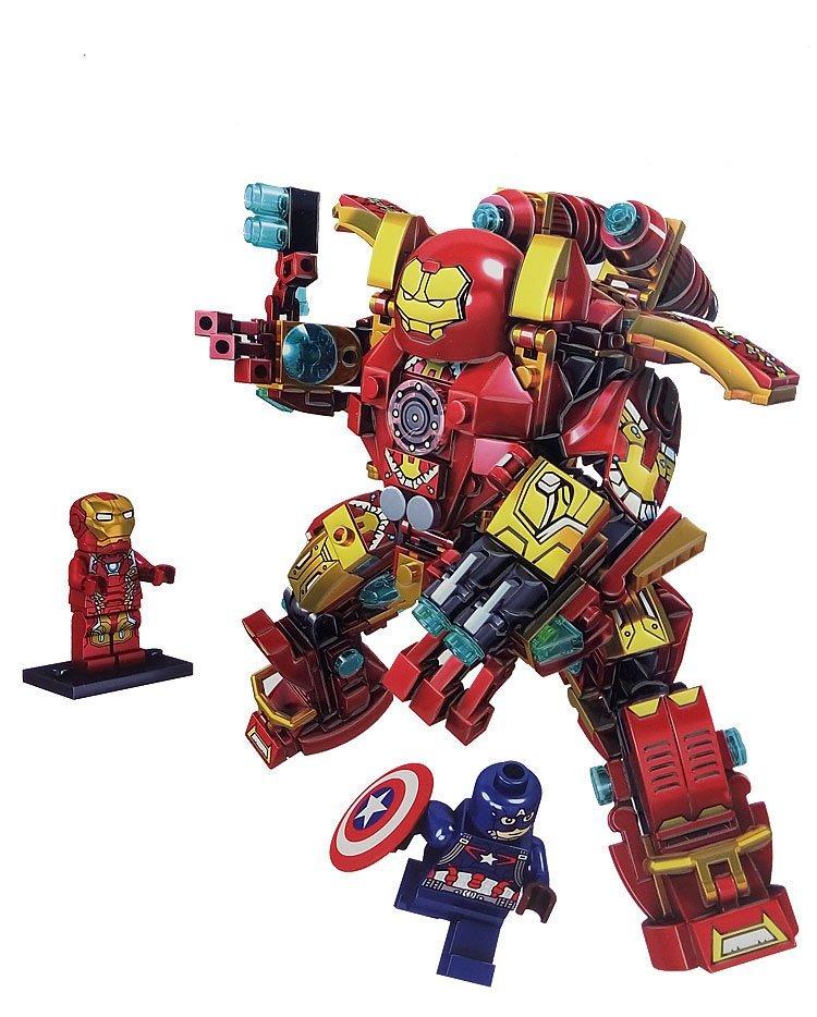 Iron Man America MK46 Marvel Superheroes Lego Compatible Toys