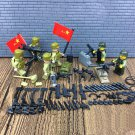Korean War Chinese soldier american soldier minifigures Lego Military sets Compatible Toys