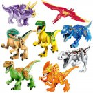 Jurassic world Tyrannosaurus Velocisaurus Dinosaurs sets Lego Compatible Toys