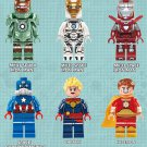 Captain America sets minifigures Marvel movie Lego Compatible Toys