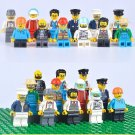 Doctor Bus Driver Workers Pilot Minifigures Lego City Sets Compatible Toy