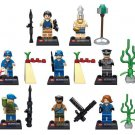 Raiders Of the Lost Ark sets minifigures Indiana Jones Lego 7622 Compatible Toys