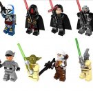 Clone Troopers Darth Revan Yoda Dinger minifigures Lego Star Wars sets Compatible Toys