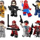 Daredevil Winter Soldier Minifigures Lego Sanctum Sanctorum Showdown Compatible Toy