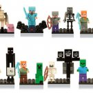 The Farm Minifigures Minecraft Sets Lego The Mountain Cave Compatible Toy