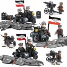 German 21 Panzer Division Minifigures World War 2 Lego Military Compatible Toy