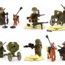 WW2 Chinese expeditionary force minifigures Lego Military Sets Compatible Toy