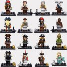 Pirates of the Caribbean minifigures Lego Movie sets Compatible Toy