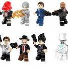 Reverse-Flash Transparent man minifigures Lego Superhero series Compatible Toy