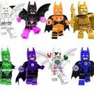 Golden White Batman Movie series Lego Arkham Asylum Compatible Toy