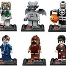Werewolf Spider Lady Skeleton Guy minifigures Lego Minifigures series 10 Compatible Toy