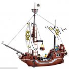 Vessel Treasure Ship Pirates Caribbean Lego Compatible Toy