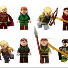Lord of the Rings The Hobbit Elf The Minifigures Lego Compatible Toy