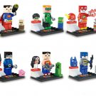 Minecraft DC Justice League Superhero minifigures Lego Compatible Toy