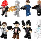 Arkham Origins minifigures DC Super Hero Lego Compatible Toy
