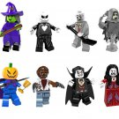 Pumpkin Vampire witch Minifigures Lego Halloween Set Compatible Toy