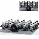 Darth Vader Scout Troopers minifigures Lego Star Wars sets Compatible Toys