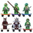 Michelangelo Donatello minifigure Ninja Turtles series Lego Compatible Toy