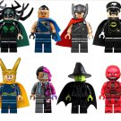 Thor 3 sets Hela Loki minifigures Lego The Ultimate Battle for Asgard Compatible Toy