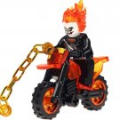 Ghost Rider minifigures Lego Movie sets Compatible Toy