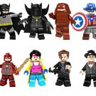DC Comics Super Heroes The Awesome Guide Batman Flash minifigures Lego Compatible Toy