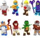 He-Man Ram man Ske Letor minifigures Lego Comic set Compatible Toy