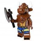 Minotaur minifigures Lego Minifigures Series 6 Compatible Toy