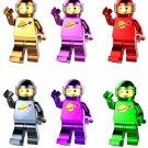 Astronaut Includes Pete Yve astronaut minifigures Lego Exo Suit Compatible Toys
