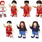 Caricature SlamDunk minifigures Lego Compatible Toys