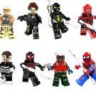 Slaughter spiderman Green Goblin minifigures Lego Marvel Sets Superhero Compatible Toy