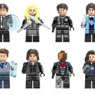Agents of SHIELD minifigures Lego Marvel sets Compatible Toys