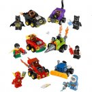 Mighty Micros Dodgem vs Batman The Flash Minifigures Lego Compatible Toy