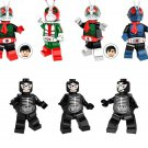 Shocker soldier Minifigures Masked Rider sets Lego Minifigures Compatible Toy
