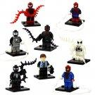 Peter Parker Venom Spider-Man minifigures Lego Super Heroes Compatible Toy