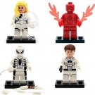 New Fantastic Four Mister Fantastic Invisible Woman minifigures Lego Compatible Toy