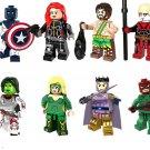 Balder Gamora minifigures Avengers' Union unlimited war Lego Compatible Toy