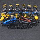 American Amphibious Ready Group Soldier minifigures Lego Military sets Compatible Toy