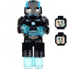 Marvel Superhero sets Black Iron man minifigures Lego Compatible Toy