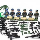 America soldiers Minifigures three Army soldiers Lego Military sets Compatible Toy