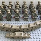America Special Forces soldiers Minifigures Soldiers sets Lego Compatible Toy