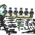 American Soldiers of Fortune minifigures Lego Military sets Compatible Toys