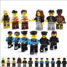 City sets Police Thief Minifigures Lego Compatible Toys