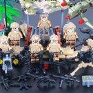 Movie Black Hawk Down American Soldier Minifigures Lego Compatible Toys