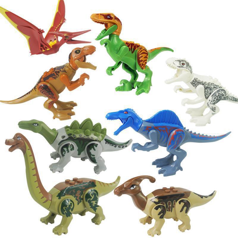 Dinosaurs Mdf Toy Box Childrens Storage Toys Games Books: Jurassic World Fallen Kingdom Minifigures Dinosaur Set