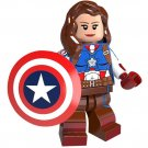 Avengers Female Captain America minifigures Lego Compatible Toys