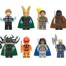 Thor vs Hulk Arena Clash Thor Ragnarok Minifigures Lego Compatible Toys