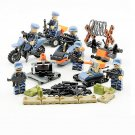 Military sets US Marine Corps Soldier Army war minifigures Lego Compatible Toys