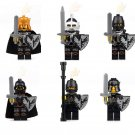 Armor Soldiers minifigures Knighton Castle Lego Minifigures Compatible Toys