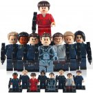 Darkness Enterprise crew minifigures Star Trek Into Lego Compatible Toys